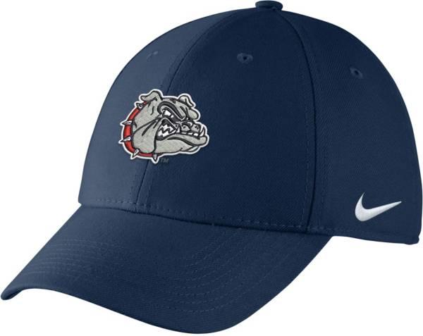 Nike Men's Gonzaga Bulldogs Blue Swoosh Flex Hat product image