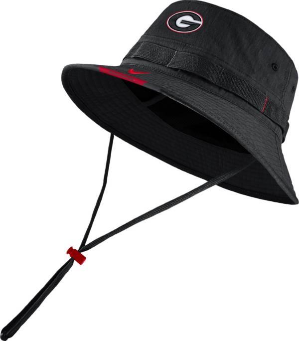 Nike Men's Georgia Bulldogs Dri-FIT Football Sideline Bucket Black Hat product image