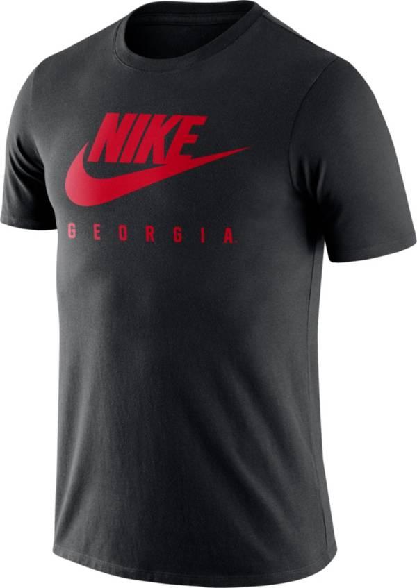 Nike Men's Georgia Bulldogs Black Futura T-Shirt product image