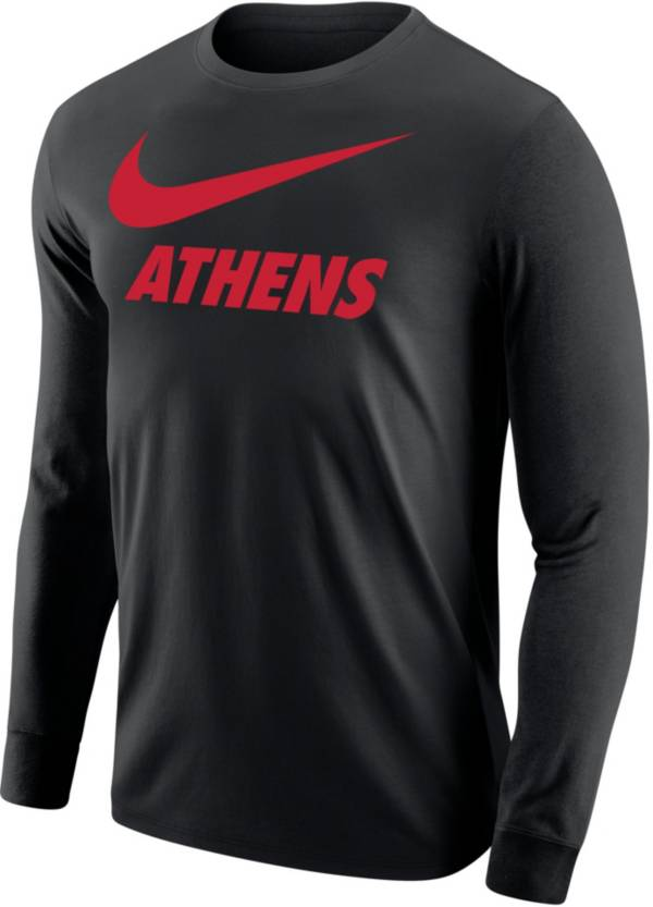 Nike Men's Athens City Long Sleeve Black T-Shirt product image