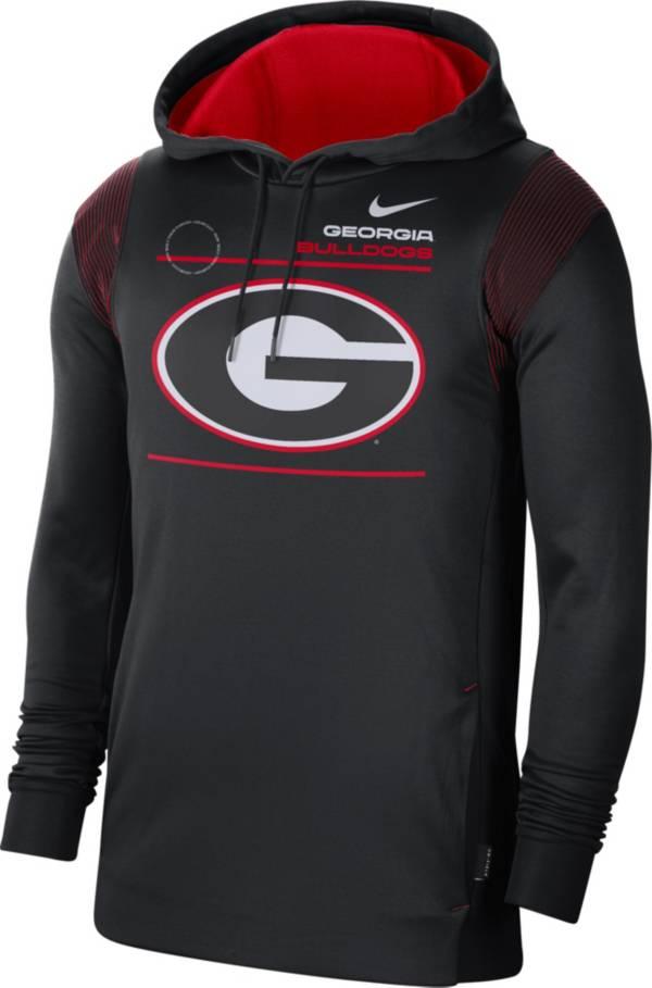 Nike Men's Georgia Bulldogs Therma Performance Pullover Black Hoodie product image