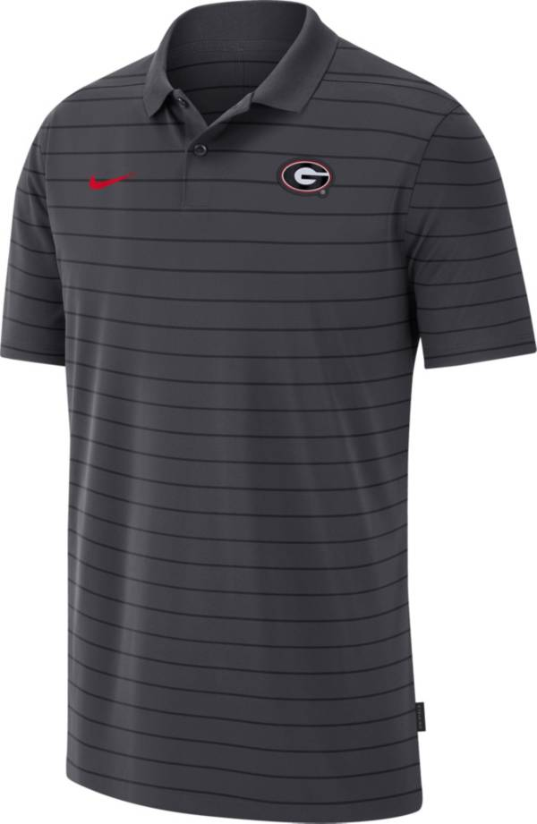 Nike Men's Georgia Bulldogs Grey Football Sideline Victory Polo product image