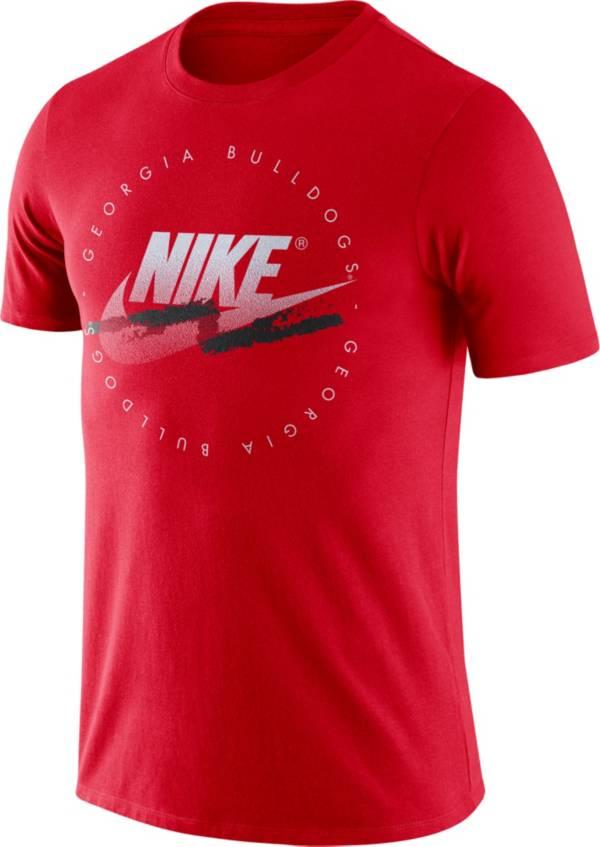 Nike Men's Georgia Bulldogs Red Festival DNA T-Shirt product image