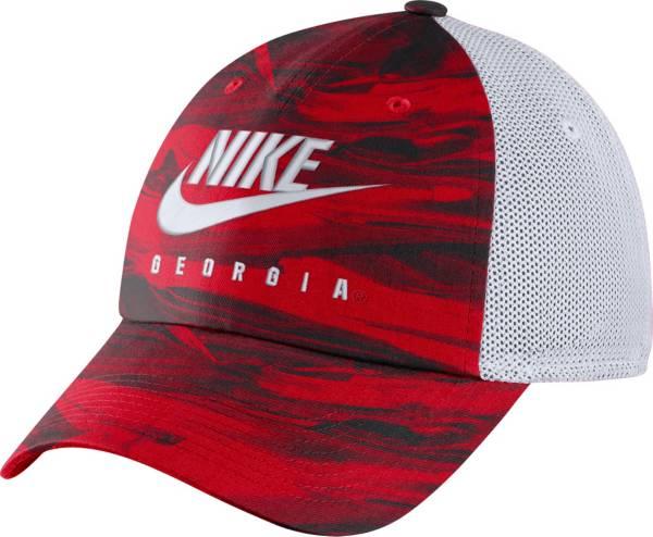 Nike Men's Georgia Bulldogs Red H86 Spring Break Adjustable Hat product image