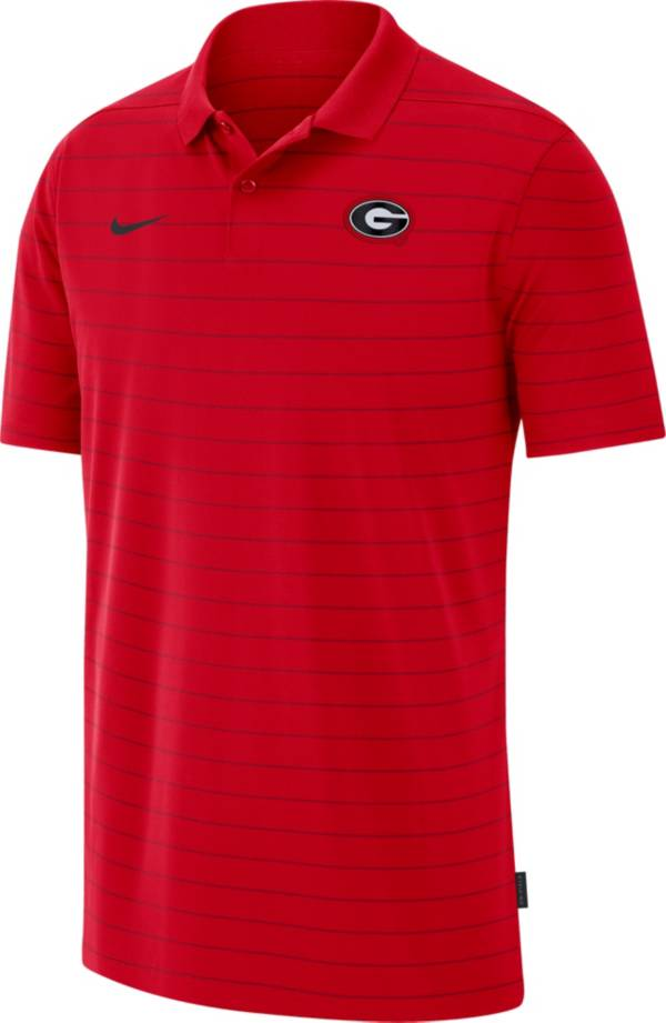 Nike Men's Georgia Bulldogs Red Football Sideline Victory Polo product image