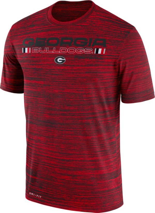 Nike Men's Georgia Bulldogs Red Velocity Legend Football T-Shirt product image