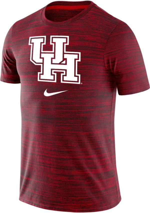 Nike Men's Houston Cougars Heathered Red Velocity Legend T-Shirt product image