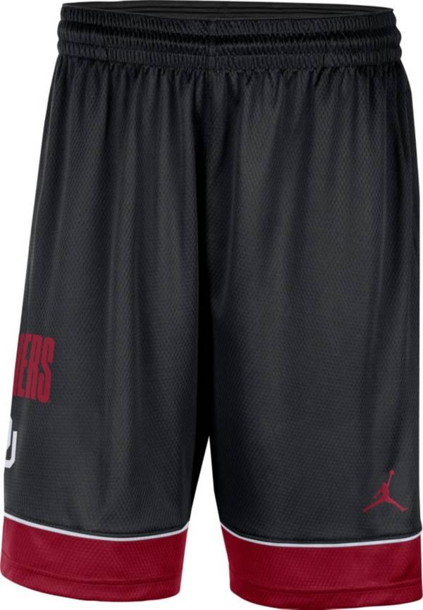 Jordan Men's Oklahoma Sooners Black Dri-FIT Basketball Shorts product image