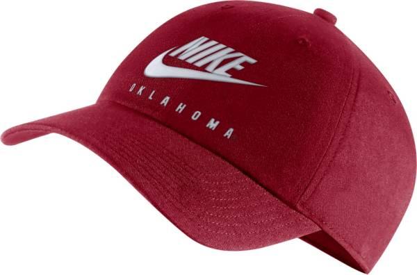 Nike Men's Oklahoma Sooners Crimson Futura Adjustable Hat product image