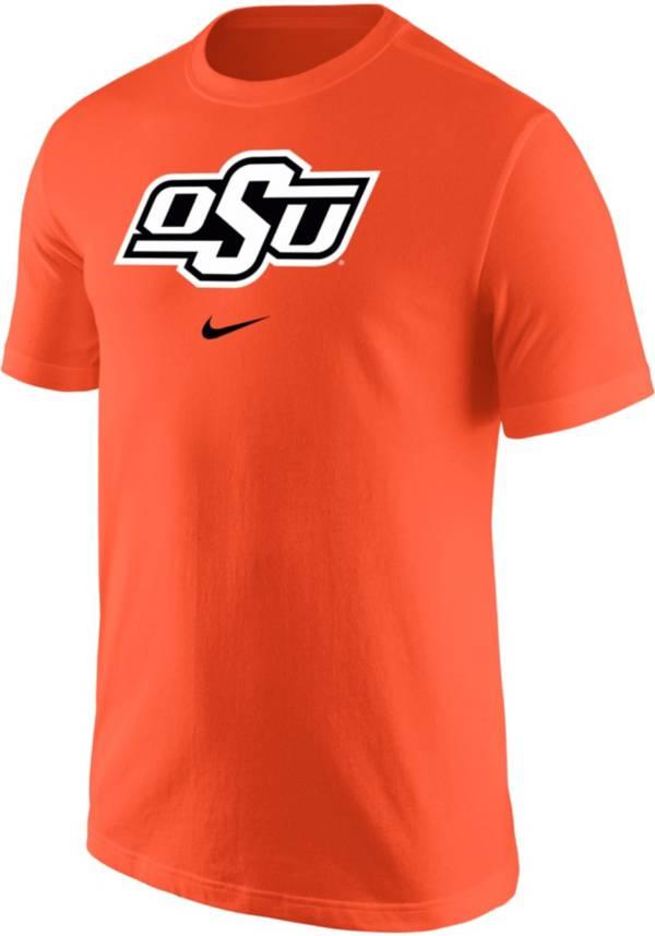Nike Men's Oklahoma State Cowboys Orange Core Cotton Logo T-Shirt product image