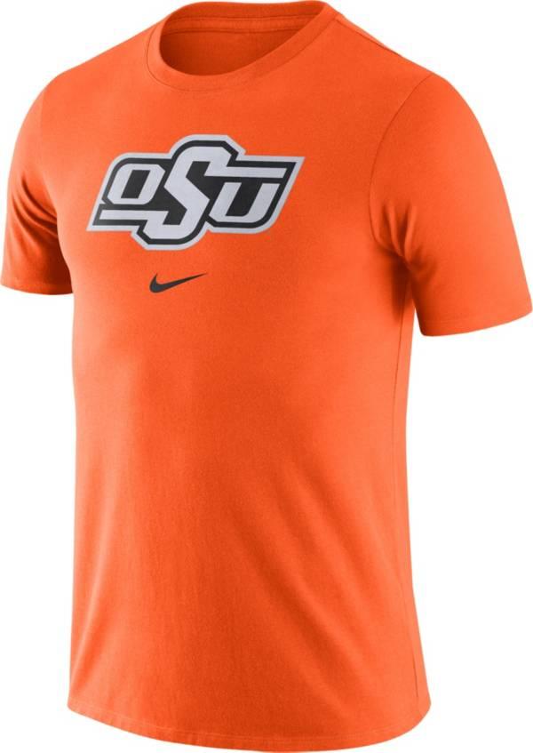 Nike Men's Oklahoma State Cowboys Orange Essential Logo T-Shirt product image