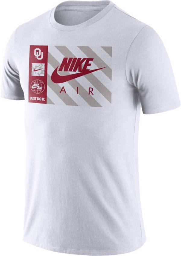 Nike Men's Oklahoma Sooners Seasonal White T-Shirt product image
