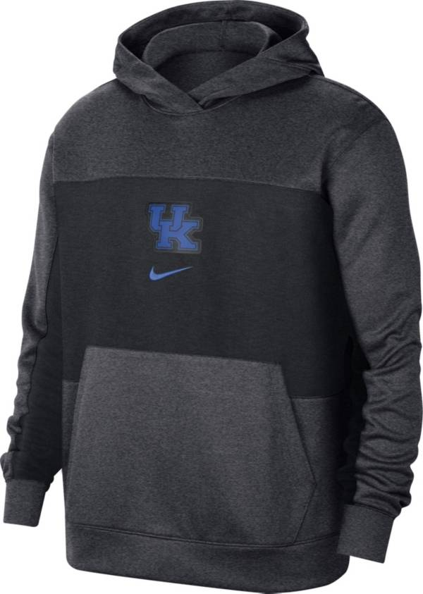 Nike Men's Kentucky Wildcats Grey Dri-FIT Spotlight Pullover Hoodie product image