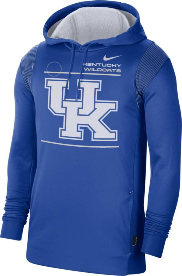 Nike Men's Kentucky Wildcats Blue Therma Performance Pullover Hoodie product image