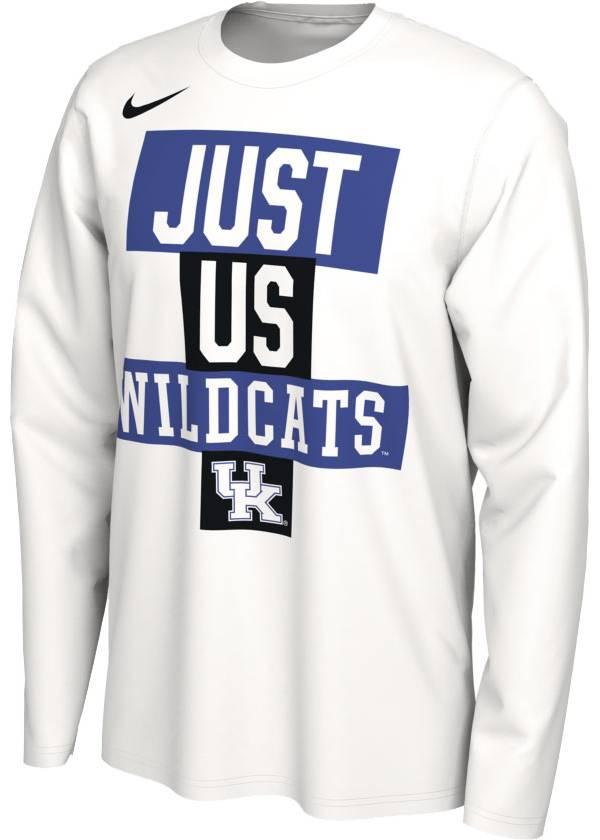 Nike Men's Kentucky Wildcats 'Just Us' Bench Long Sleeve T-Shirt product image