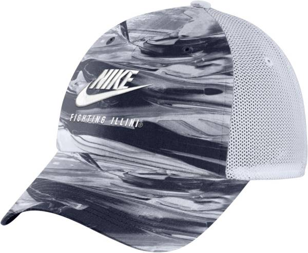 Nike Men's Illinois Fighting Illini Navy/White H86 Spring Break Adjustable Hat product image