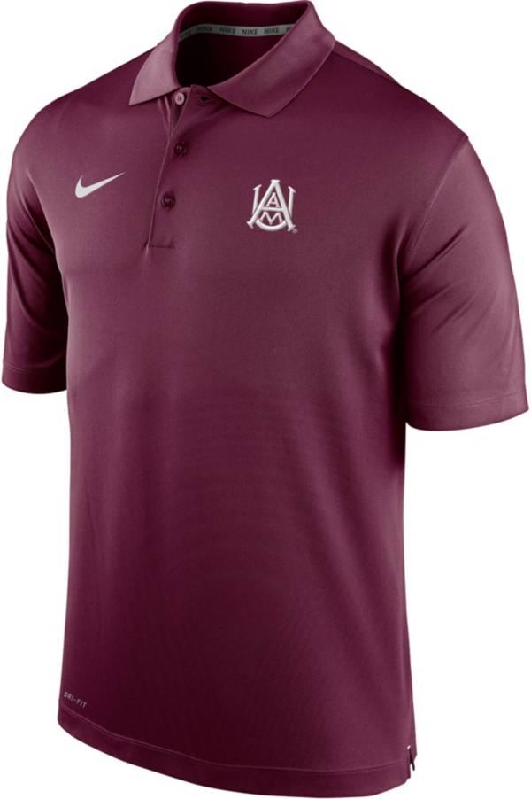 Nike Men's Alabama A&M Bulldogs Maroon Varsity Polo product image