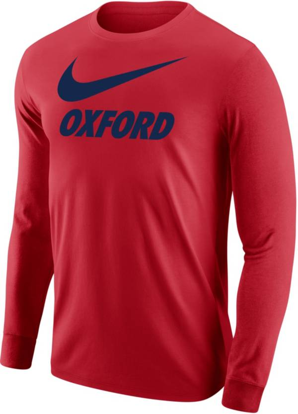 Nike Men's Oxford Red City Long Sleeve T-Shirt product image