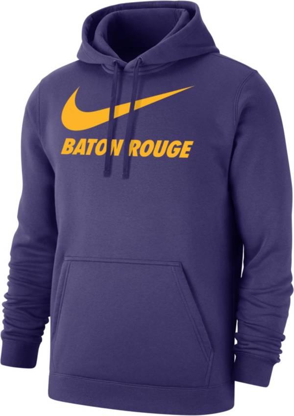 Nike Men's Baton Rouge Purple City Pullover Hoodie product image