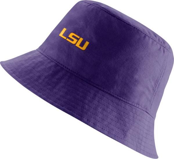 Nike Men's LSU Tigers Purple Core Bucket Hat product image
