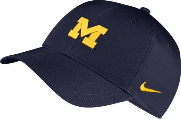 Nike Men's Michigan Wolverines Blue Legacy91 Adjustable Hat product image