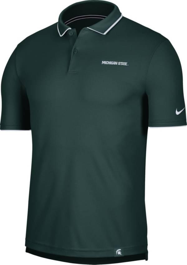 Nike Men's Michigan State Spartans Green Dri-FIT UV Polo product image