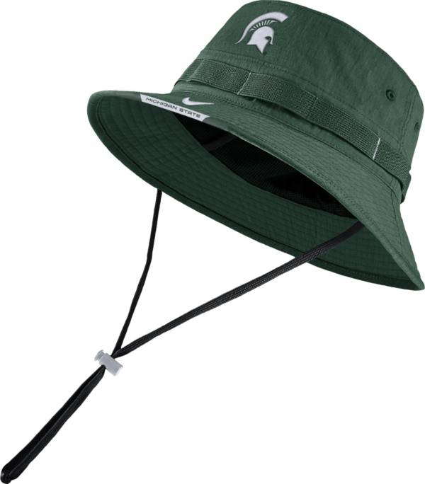 Nike Men's Michigan State Spartans Green Dri-FIT Football Sideline Bucket Hat product image