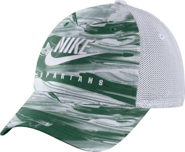 Nike Men's Michigan State Spartans Green H86 Spring Break Adjustable Hat product image