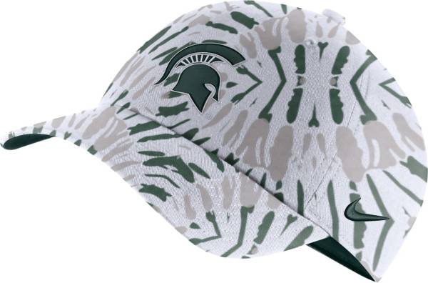 Nike Men's Michigan State Spartans Green Tie-Dye Heritage86 Festival Hat product image
