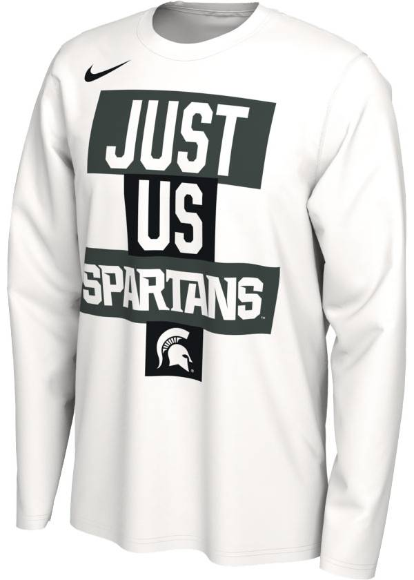 Nike Men's Michigan State Spartans 'Just Us' Bench Long Sleeve T-Shirt product image