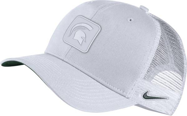 Nike Men's Michigan State Spartans White Classic99 Trucker Adjustable Hat product image