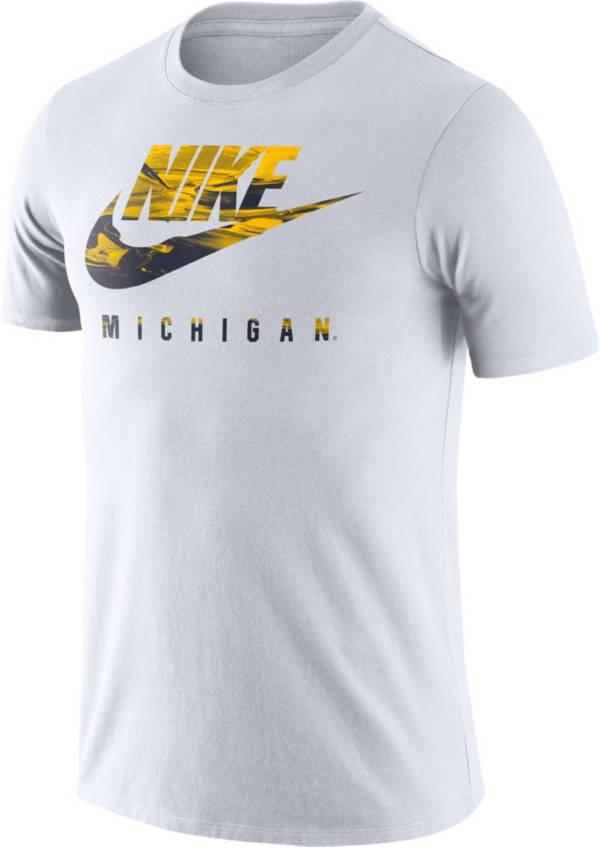 Nike Men's Michigan Wolverines White Spring Break T-Shirt product image