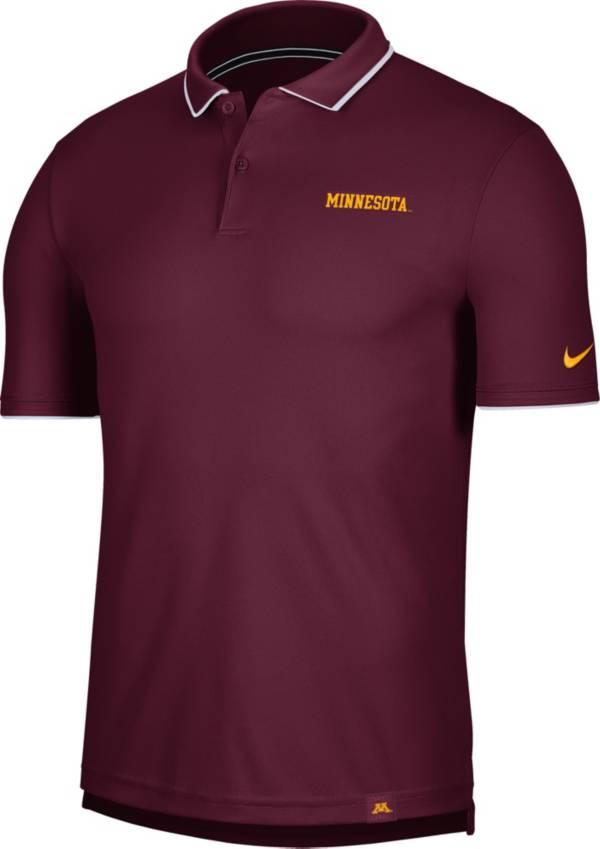 Nike Men's Minnesota Golden Gophers Maroon Dri-FIT UV Polo product image