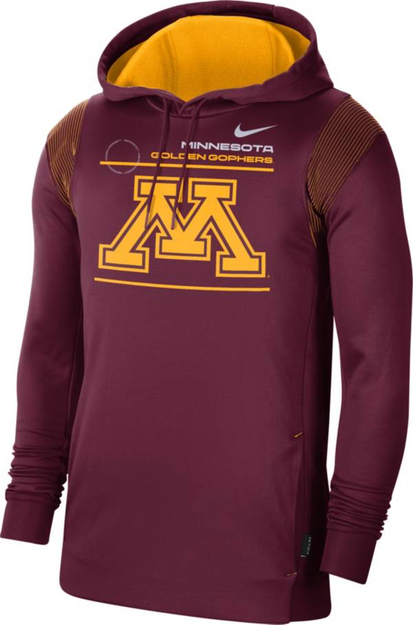 Nike Men's Minnesota Golden Gophers Maroon Therma Performance Pullover Hoodie product image