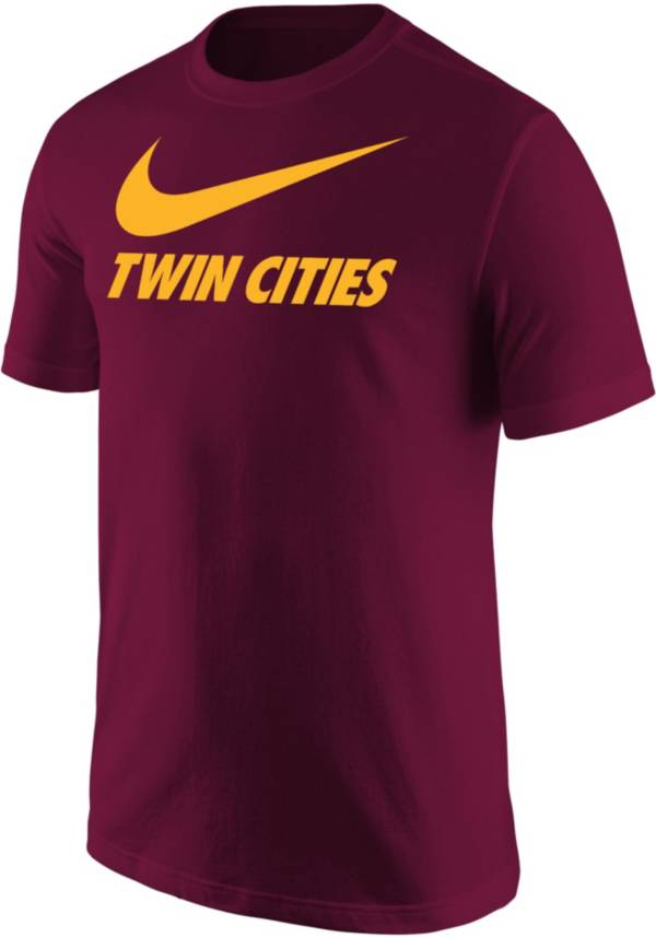Nike Men's Twin Cities Maroon City T-Shirt product image