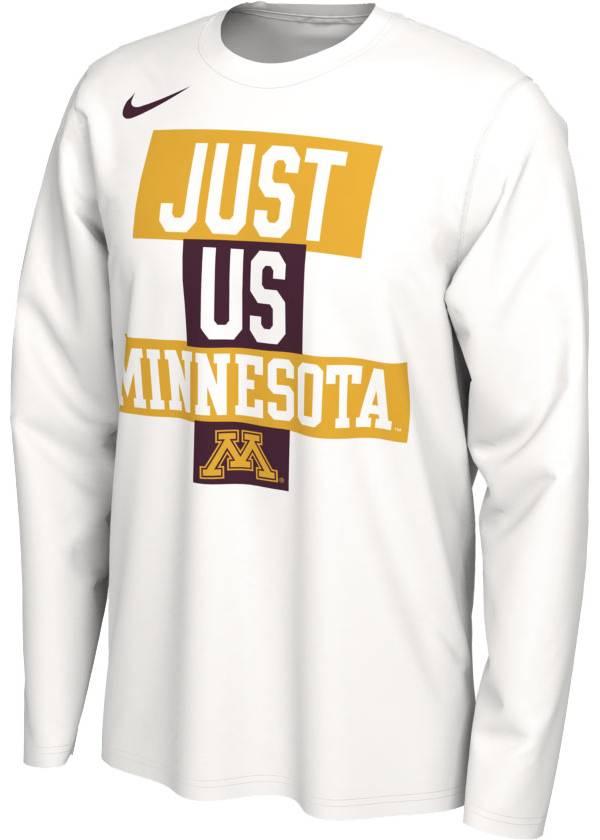 Nike Men's Minnesota Golden Gophers 'Just Us' Bench Long Sleeve T-Shirt product image