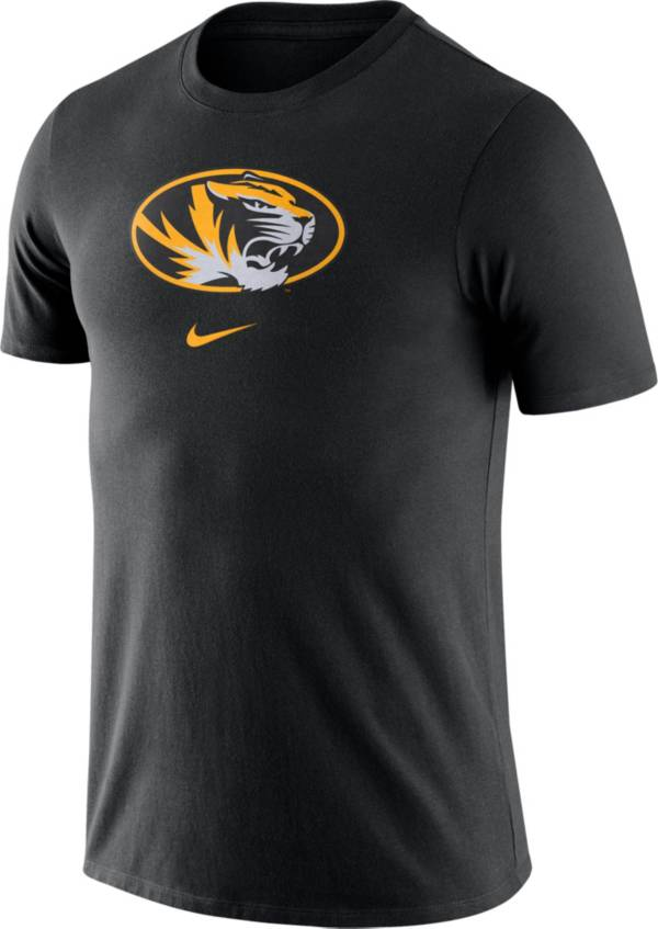 Nike Men's Missouri Tigers Essential Logo Black T-Shirt product image