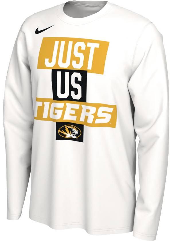 Nike Men's Missouri Tigers 'Just Us' Bench Long Sleeve T-Shirt product image