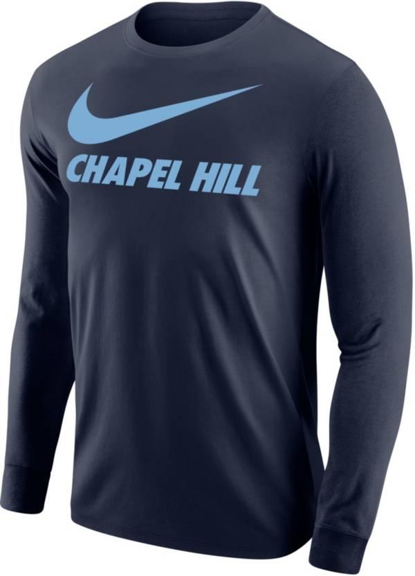 Nike Men's Chapel Hill Navy City Long Sleeve T-Shirt product image
