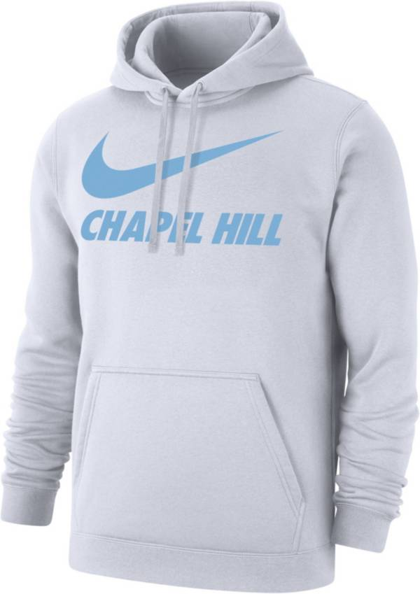 Nike Men's Chapel Hill City Pullover White Hoodie product image