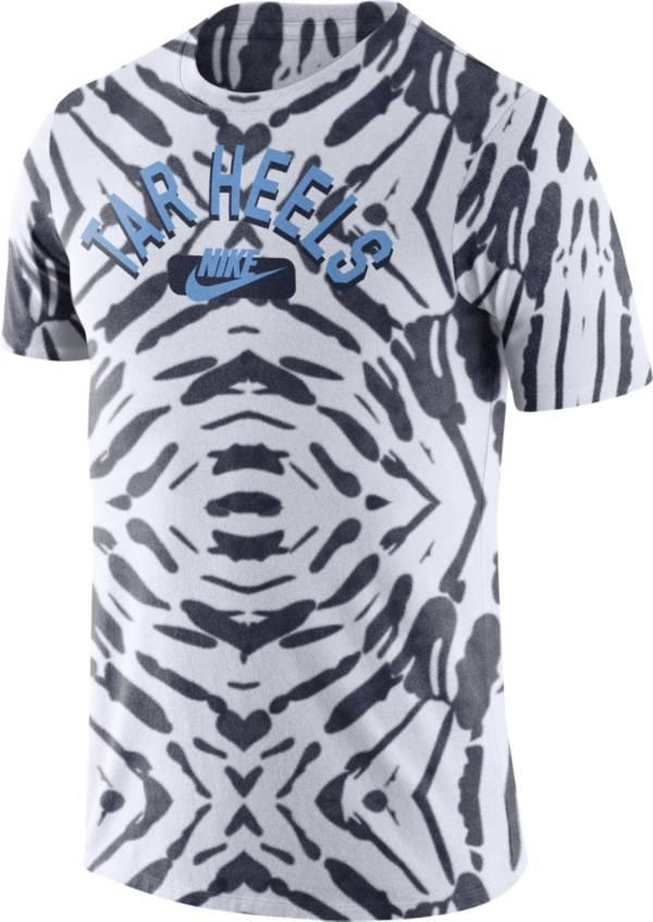 Nike Men's North Carolina Tar Heels White Tie-Dye Festival T-Shirt product image
