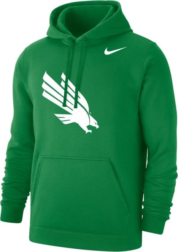 Nike Men's North Texas Mean Green Green Club Fleece Hoodie product image