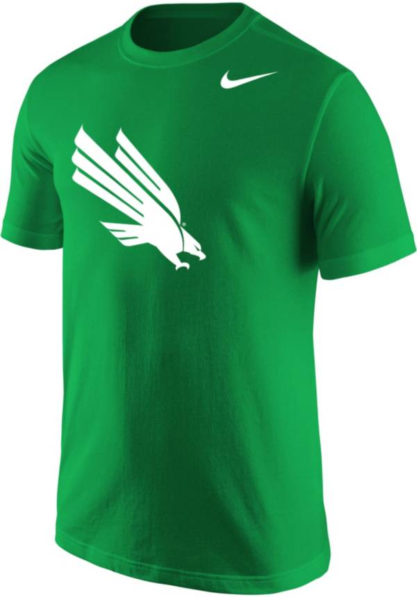 Nike Men's North Texas Mean Green Core Cotton Green T-Shirt product image