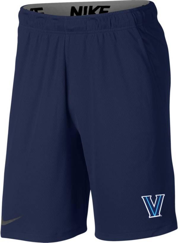 Nike Men's Villanova Wildcats Navy Dri-FIT Hype Shorts product image