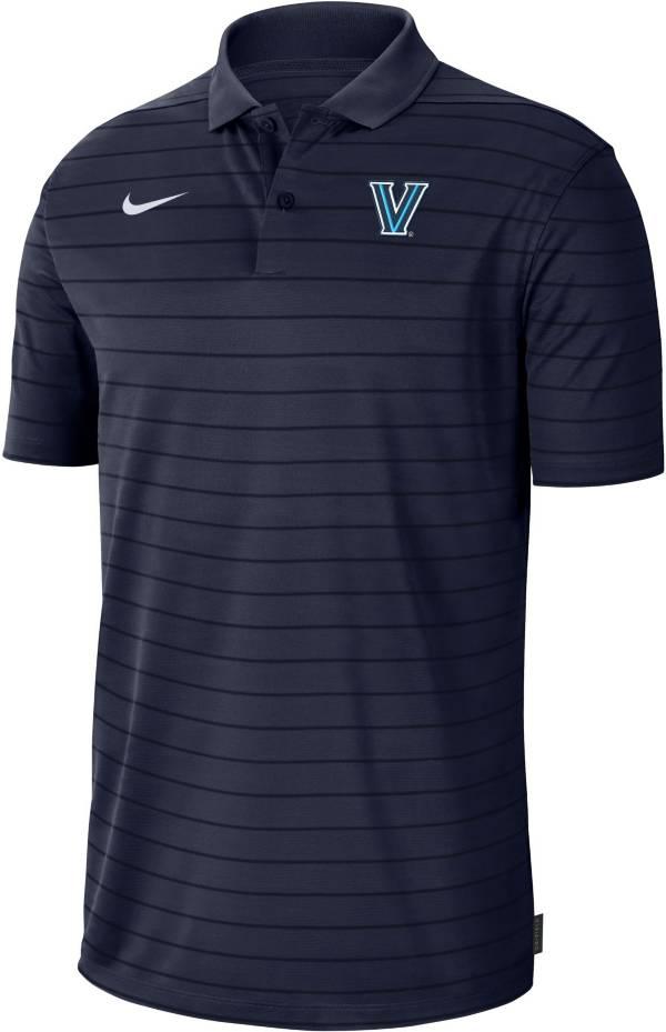 Nike Men's Villanova Wildcats Navy Football Sideline Victory Polo product image