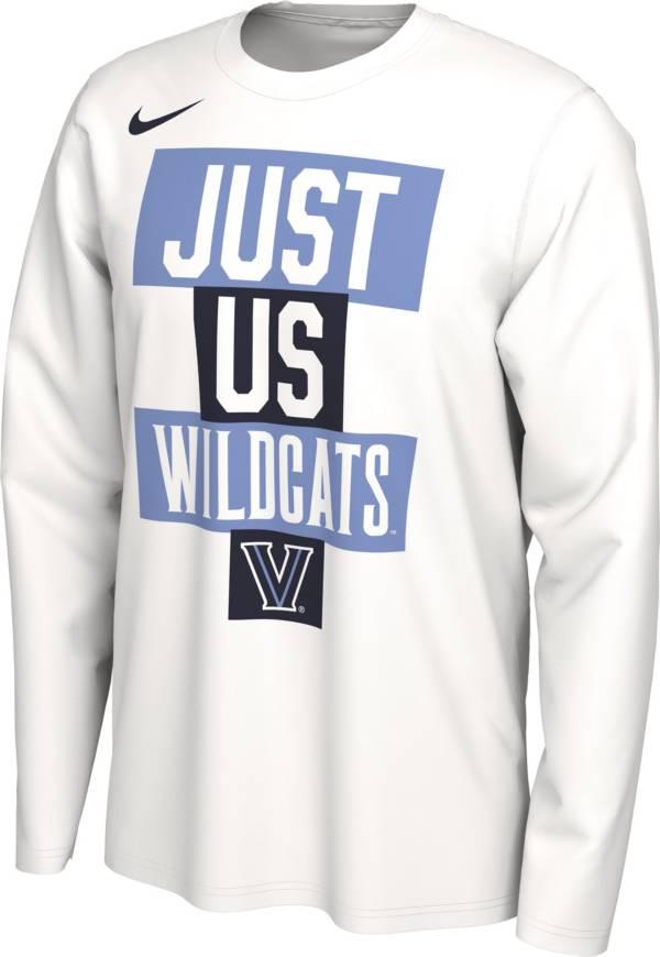 Nike Men's Villanova Wildcats 'Just Us' Bench Long Sleeve T-Shirt product image