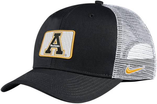 Nike Men's Appalachian State Mountaineers Classic99 Trucker Black Hat product image