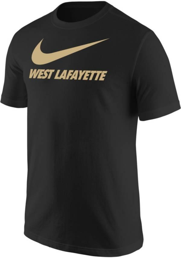 Nike Men's West Lafayette City Black T-Shirt product image