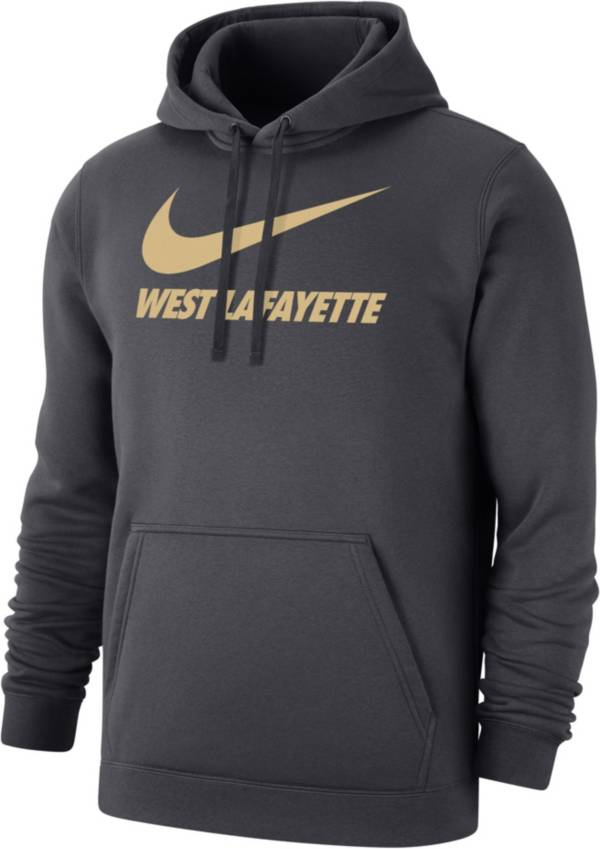 Nike Men's West Lafayette Grey City Pullover Hoodie product image