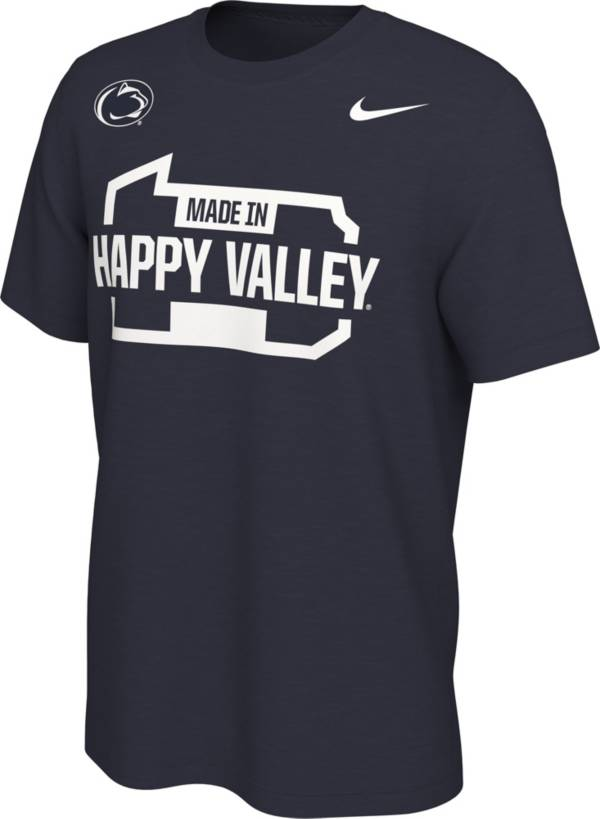 Nike Men's Penn State Nittany Lions Blue Happy Valley Mantra T-Shirt product image